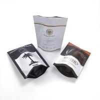 China Stand Up Aluminium Foil Pouch , Durable Custom Printing Coffee Bag With Zipper wholesale