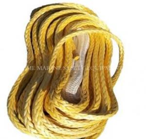 China Dynema Winch Rope with thimble black sleeve hook wholesale