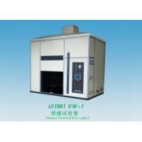 China Electric Wire Flame Test Chamber 1000Ml / M Flow Range For Finished Wire / Cord wholesale