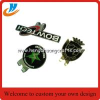 China Wholesale logo golf ball marker hat clip and divot tool set,customized golf accessory products wholesale