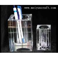 crystal penholder and carderholder
