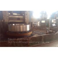 China 4140 42CrMo4 Rolled Forged Steel Rings Q+T High Hardness For Concrete Mixer Truck wholesale