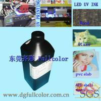China White Printing Inks, Flatbed Printer Refill Led Curable Ink For Epson DX5 DX6 DX7 Inkjet Printhead wholesale