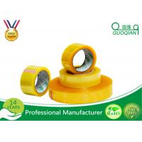 Hot Melt Transparent BOPP Packing Tape For Carton Sealing Environmental Protection