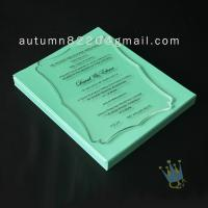 China attractive special design invitation wholesale