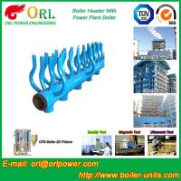 China Power Station Boiler Header Manifolds Oil Fired Boiler Unit TUV Certification wholesale