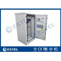 Buy cheap 19 Inch Rack 27U Air Conditioner Cooling Outdoor Telecom Cabinet Two Doors from wholesalers