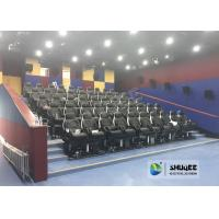 China Fast Return 5D Theater With Genuine Leather Electric 5D Seats In Business Center wholesale