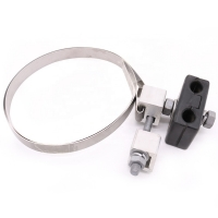 China SS Hoop 100lbs Down Lead Clamp For ADSS / OPGW Cable wholesale