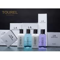 China Disposable Hotel Bath Amenities Set / Tinted Finishing Hotel Guest Toiletries wholesale