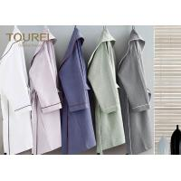 China Custom Polyester Plush Kimono Hotel Quality Bathrobes Soft Warm Fleece wholesale