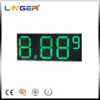 "China 10"" 8.889 7 Segments LED Gas Price Sign 110V ~ 240V AC 100000 Hours Life Span wholesale"