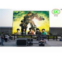 China Commercial Clear P10 Full Color LED Wall Curtain For Advertising, Advertisement Led Screen wholesale