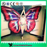 China Custom Inflatable Cartoon Characters , Digital Printing Inflatable Butterfly Wing Model wholesale