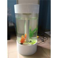 China Popular Custom Acrylic Fish Tank With Led Light And Perfect Transparency wholesale