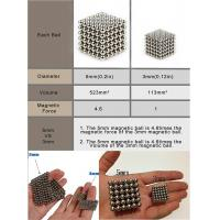 China Kellin Neodymium Magnetic Balls 216 pcs 3mm 5mm Buckyballs Magnetic Cubes on sale