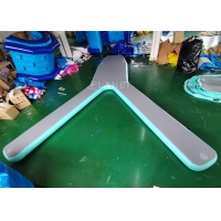 China Customized Drop Stitch Y Shape Pontoon Boat Platform For Parking wholesale