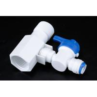 China Quick Connect Tee RO Water Treatment System Two Way Sliptter And Inlet Valve wholesale