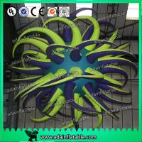 China Beautiful Led Inflatable Bend Star Oxford Cloth Lucky Star For Stage Lighting wholesale