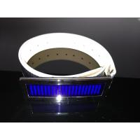 China Customized LED message display belt buckle for party wholesale