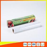 China Plastic Stretch PE Cling Film Wrap On Roll Food Grade With Paper Box wholesale