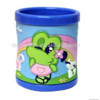 Quality Custom 2d,3d or full printing cute Eco-friendly non-toxic pvc coffee mugs for kids for sale