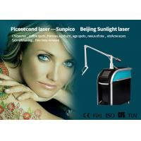 China 1064nm Laser Tattoo Removal Device , Picosure Fractional Tattoo Eraser Machine on sale