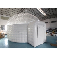 China 0.55mm Pvc Inflatable Igloo Tent For Outdoor Observe Stars wholesale