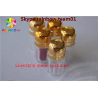 China Golden Color Plastic Pill Bottles For Rhino 69 9000 Enhance Male Sex Capsule Packaging wholesale