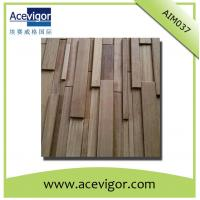 China Solid wood mosaic antique wall panel for decoration wholesale