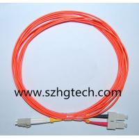 China Life Time Warranty SC/LC Fiber Patch Cord MM Duplex 3Mtr on sale