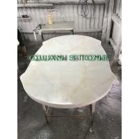 China Custom Bathroom Vanity Tops / Marble Vanity Countertops Lightweight And High Strength wholesale