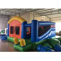 China Backyard Inflatable Bounce House Combo Kids Home Small Jumping House With Slide wholesale