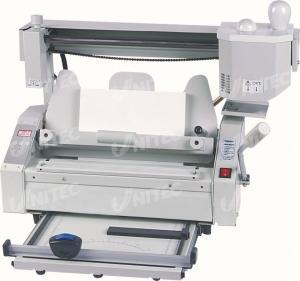 China Notebook Manual Binding Machine , A4 Paper Binding Machine 28.5Kgs JB-4 wholesale