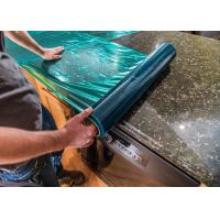 China Counter Tops Marble Protection Film , PE Material Floor Protection Film on sale