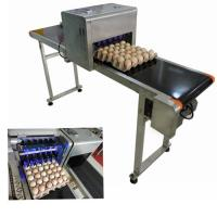 China Smart High Speed Egg Jet Coding Machine Printing 120000 Characters Per Hour wholesale