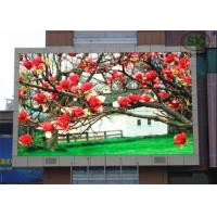 China Waterproof Full Color Outdoor LED Screen 6500K - 9500K High Brightness, Led signs wholesale