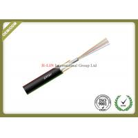 China Multi Core Aerial Fiber Optic Cable  With Unitube Non Metallic Non Armored GYFXY wholesale