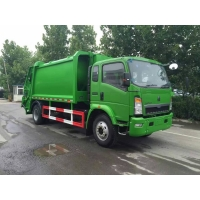 China SINOTRUK HOWO 4*2 Compacted 12m3 Garbage Compactor Truck on sale