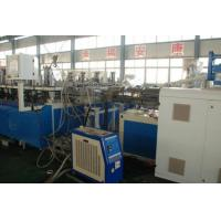 China PVC Building Template Foam Board Machine , PVC Semi Crust Foam Board Extruder on sale