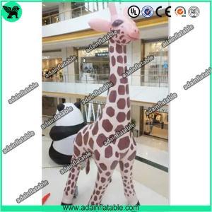 China 6m High Inflatable Giraffe,Inflatable Giraffe Cartoon, Giraffe Animal Inflatable wholesale
