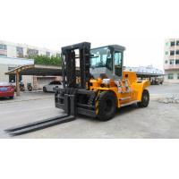 China Volvo Energy Saving Engine Diesel Forklift Truck Yellow Color High Performance wholesale