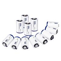 China CR2 3V Lithium Primary Cell Battery 800mah with Battery Storage Case 4 Packs wholesale
