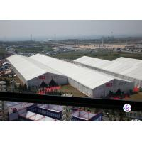 Buy cheap Big Capacity Outdoor Exhibition Tents , Trade Show White Party Tent from wholesalers