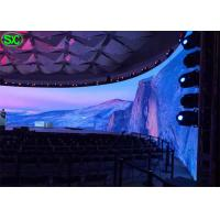 China Indoor P6 Curve Curtain LED Display WIFI 3G Control with 5 years Warranty wholesale