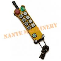 China 8 Buttons Handheld Radio Industrial Telecrane Remote Control Original From Taiwan wholesale