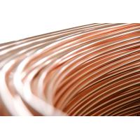 China Steel Copper Coated Tube , Welded Bundy Pipe 6.35mm X 0.65 mm wholesale
