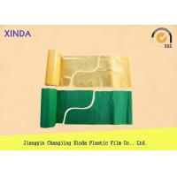 Quality 95cmx110cm 25mic Drawstring plastic garbage S folded bags medical used logo for sale