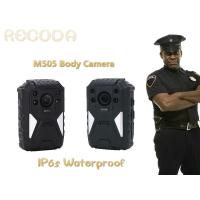 China Weaterproof police body mounted cameras Support on 1296P Resolution With IR Function wholesale