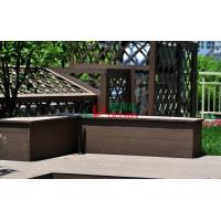Quality Recyclable 100% Wood Plastic Composite Lumber , Composite Timber Decking Corrosion Resistance for sale